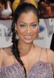 LaLa Anthony fishtail braid