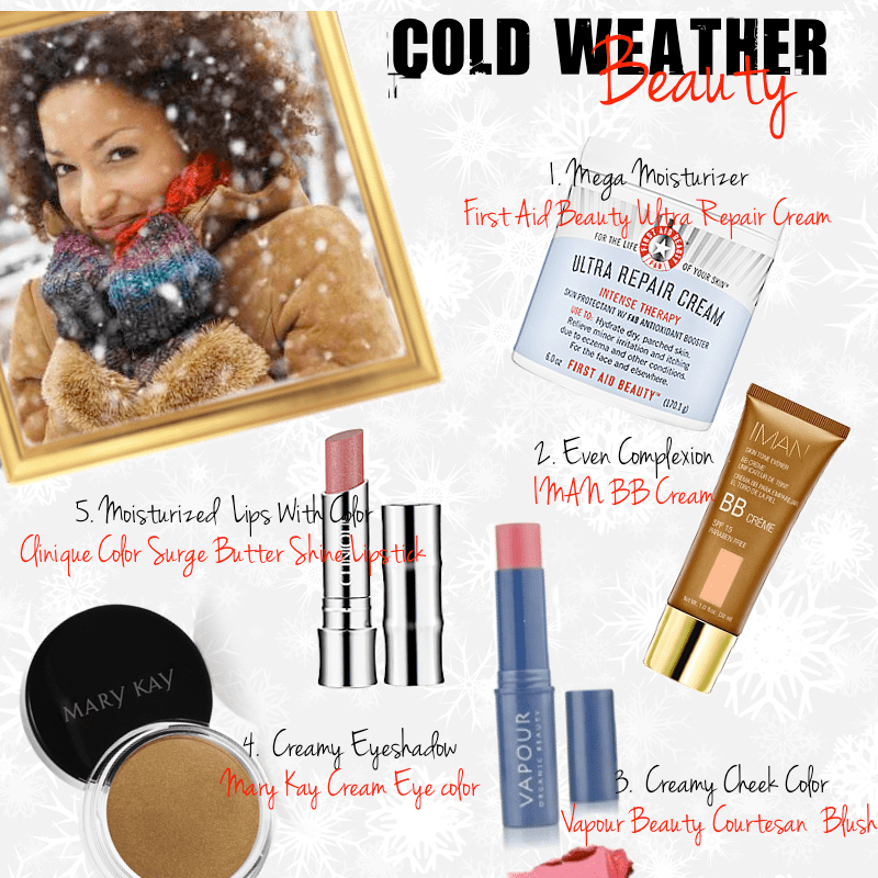 Blinging Beauty Cold Weather Makeup tips