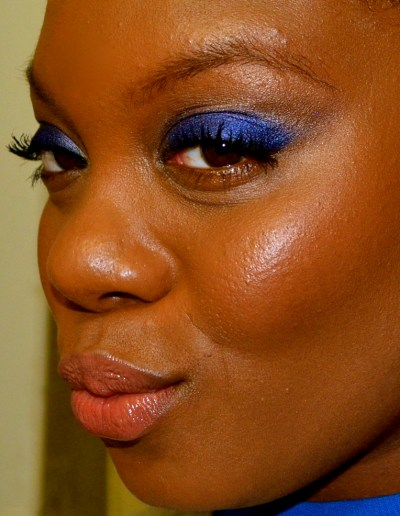 Blinging Beauty Milani Baked Metallic Eyeshadow in Blue My Mind Review and Tutorial by Miss Merli