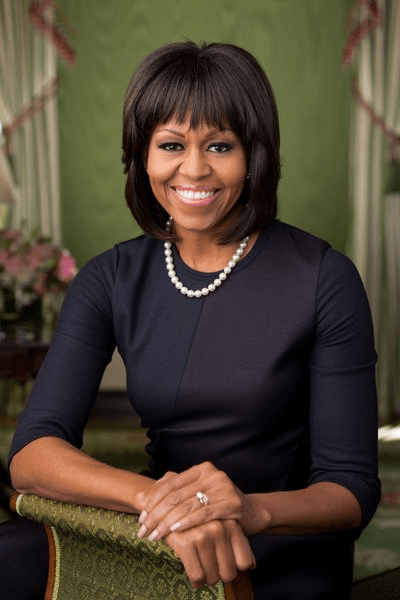 michell obama official portrait