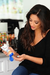 Pretty Little Liars star Shay Mitchell with Bioré® Acne Clearing Scrub