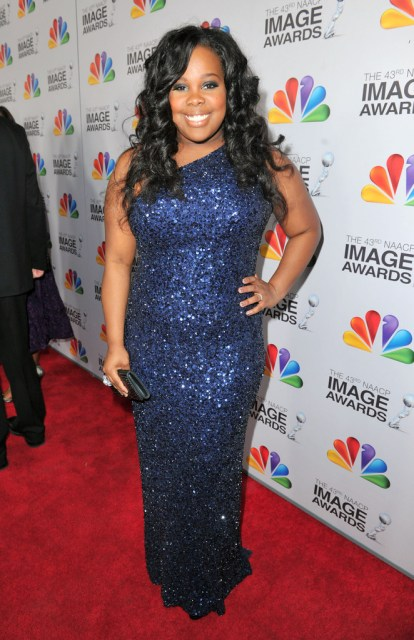 Amber Riley 2012 43rd NAACP Image Awards