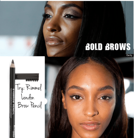 Bold Brows Jourdan Dunn