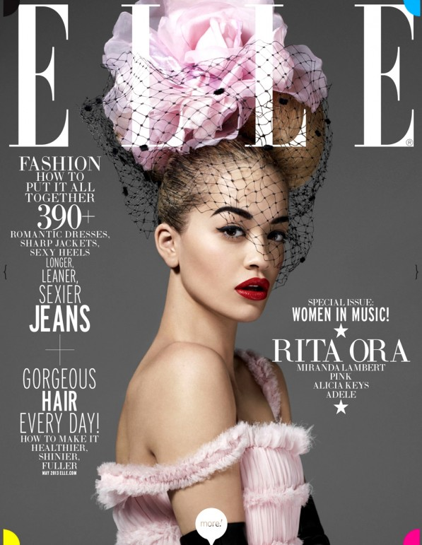 rita ora elle cover may 2013