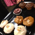 The Best cupcakes ever at Nordstrom Beauty Blush Hour May 30