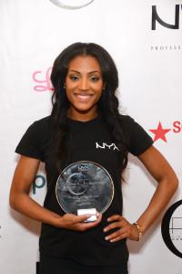 Missy Lynn winner of the 2013 Fine Artistry of Cosmetic Elites (FACE) Awards.