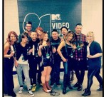 Redken backstage at the 2013 MTV VMAs