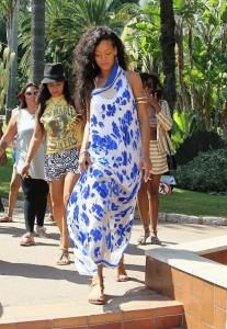 Rihanna maxi dress