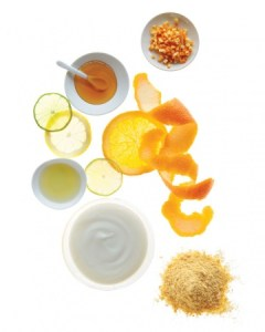 citrus diy facial