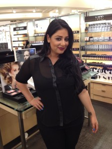 Janice Daoud NARS Nordstrom trends show fall 2013
