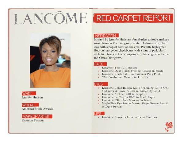 Red Carpet Report Lancome Jennifer Hudson