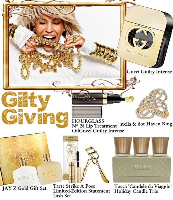 Blinging Beauty Gilty giving gift guide