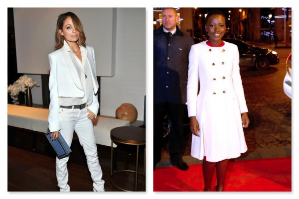 White Done Right Outerwear Blinging Beauty Edited by Nigel Isaiah