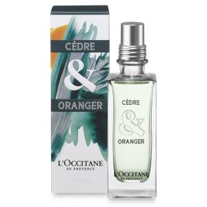 L'Occitane Manly Man: Friday Fragrance Find—L'Occitane Cèdre & Oranger Eau de Toilette