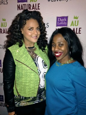 (Left-to-right) Marsha Ambrosius and Rana Campbell