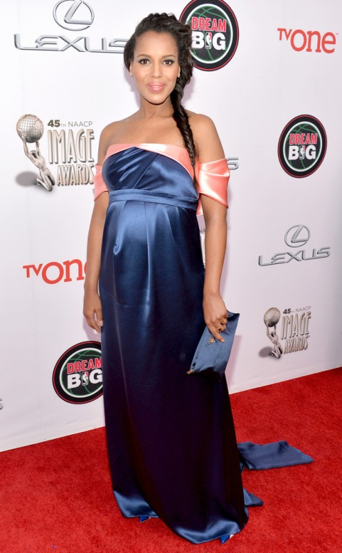 Kerry Washington red carpet 45th NAACP Awards