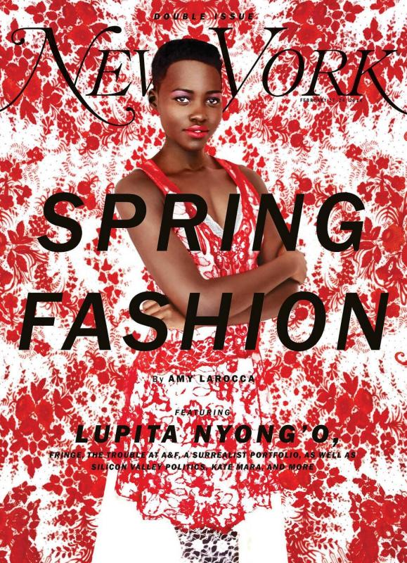 New York Magazine Spring Fashion Issue with Lupita Nyong'o nymag.com