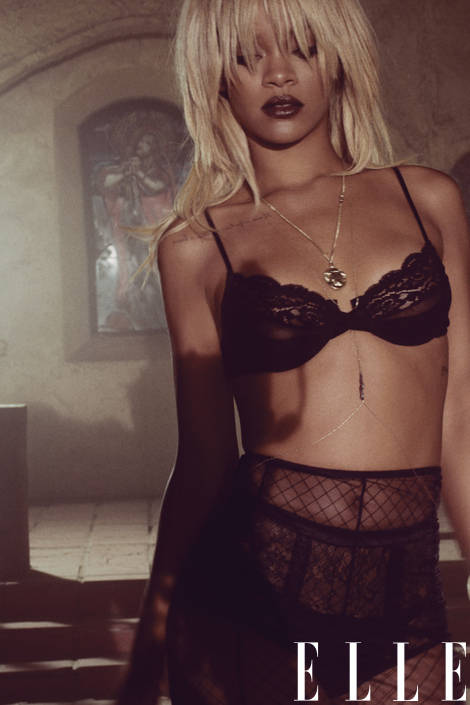 rihanna black-bra elle may 2014-xln