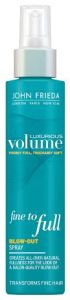 John Frieda Luxurious Volume Fine to Full spray.