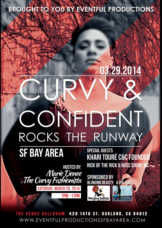 curvy and confident rocks the runway WEB