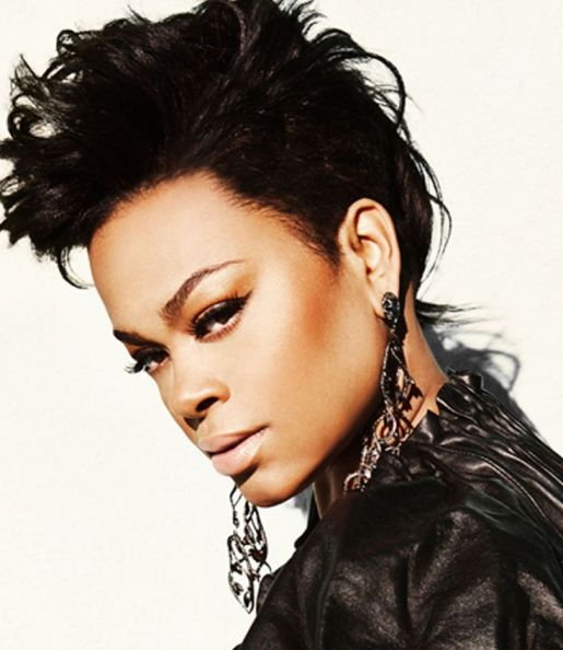 Jill Scott Faux Hawk