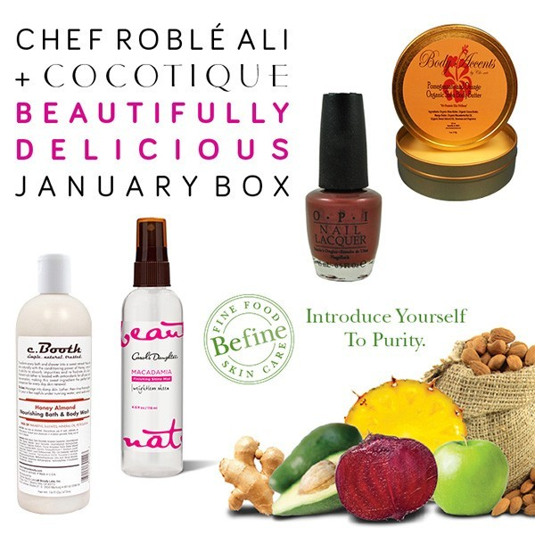 COCOTIQUE Chef Roble Ali Beautifully Delicicous Box