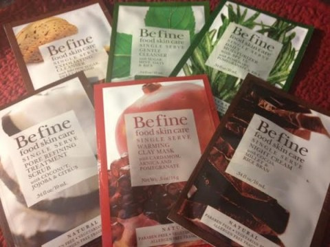 Befine Skin Care samples from Cocotique box