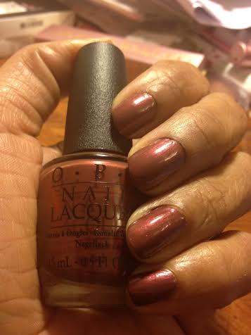 OPI Nail Lacquer San Francisco Collection: I Knead Sour Dough swatch