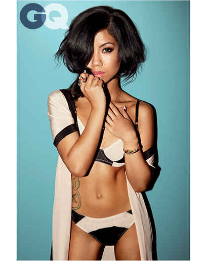 Jhene Aiko GQ photoshoot May 2014 3