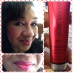 Josie Maran Argan Cheek & Lip & Oil swatch Always Cherry