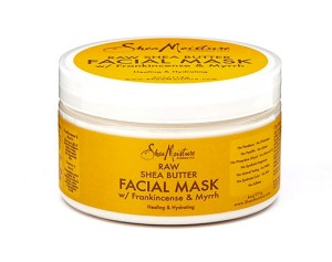 sheamoisture raw shea facial mask