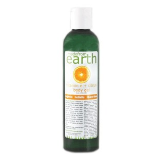 made from earth vitamin e plus citrus shower-gel
