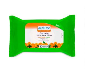AcneFree Energizing Wipes RS