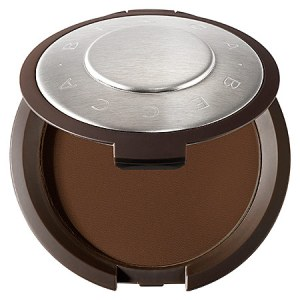 BECCA Perfect Skin Mineral Powder Foundation Cacao - deep chocolate brown with neutral undertones