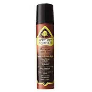 one n only argan oil cream to serum styler reviewer