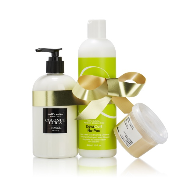 DooBop Holiday Gift Set, Natural Curls