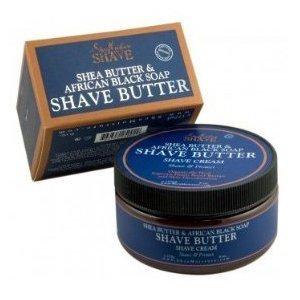 sheamoisture black soap shave cream butter