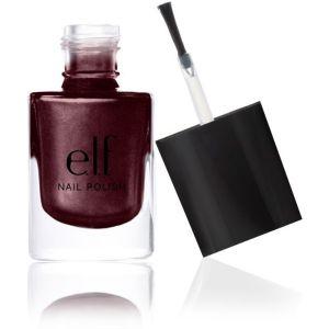 elf nail polish cranberry