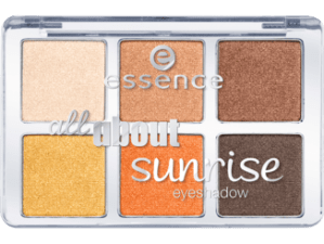 essence all about sunrise eyeshadow palette