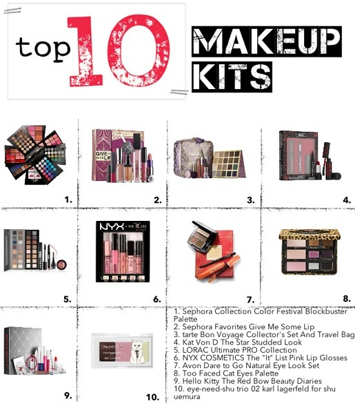 top 10 makeup kits
