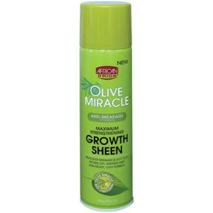 African Pride Olive Miracle Growth Sheen