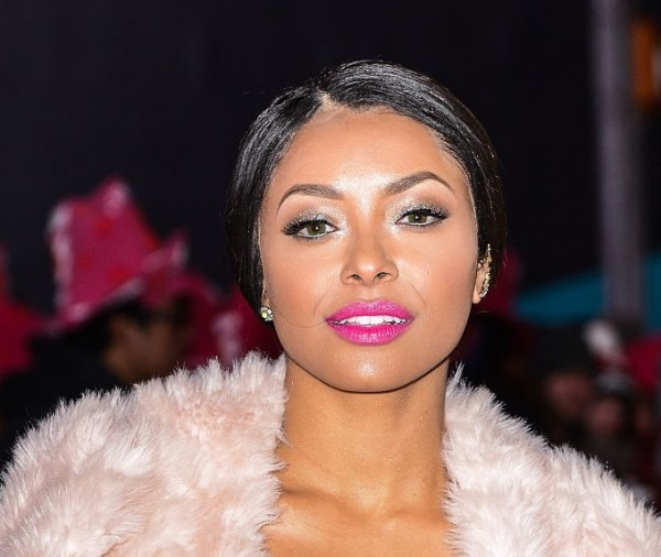 kat graham new years eve 2015 covergirl lipstick