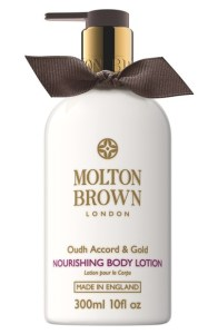 MOLTON BROWN London Oudh Accord & Gold Body Lotion