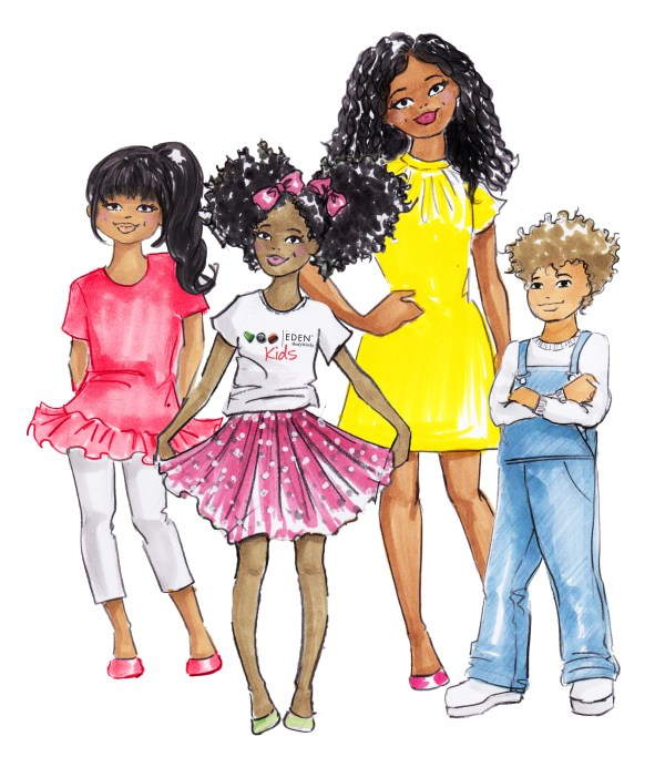 eden bodyworks kids illustration