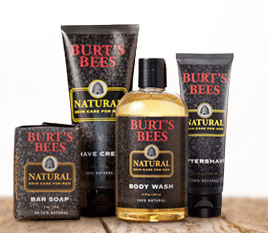 burt' bees natural men