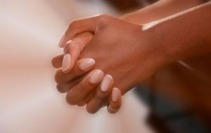 black woman's hands