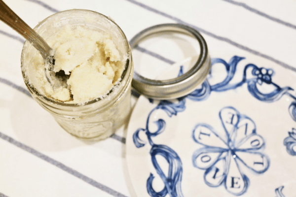 Lavender Sea Salt Shea Butter Body Scrub 4