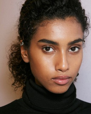 brows backstage burberry ss 2016