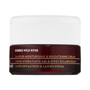 Korres Wild Rose 24-Hour Moisturizing & Brightening Cream - Copy