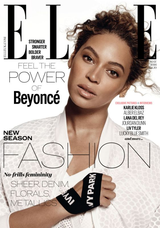 BEYONCE elle uk cover-may 2016
